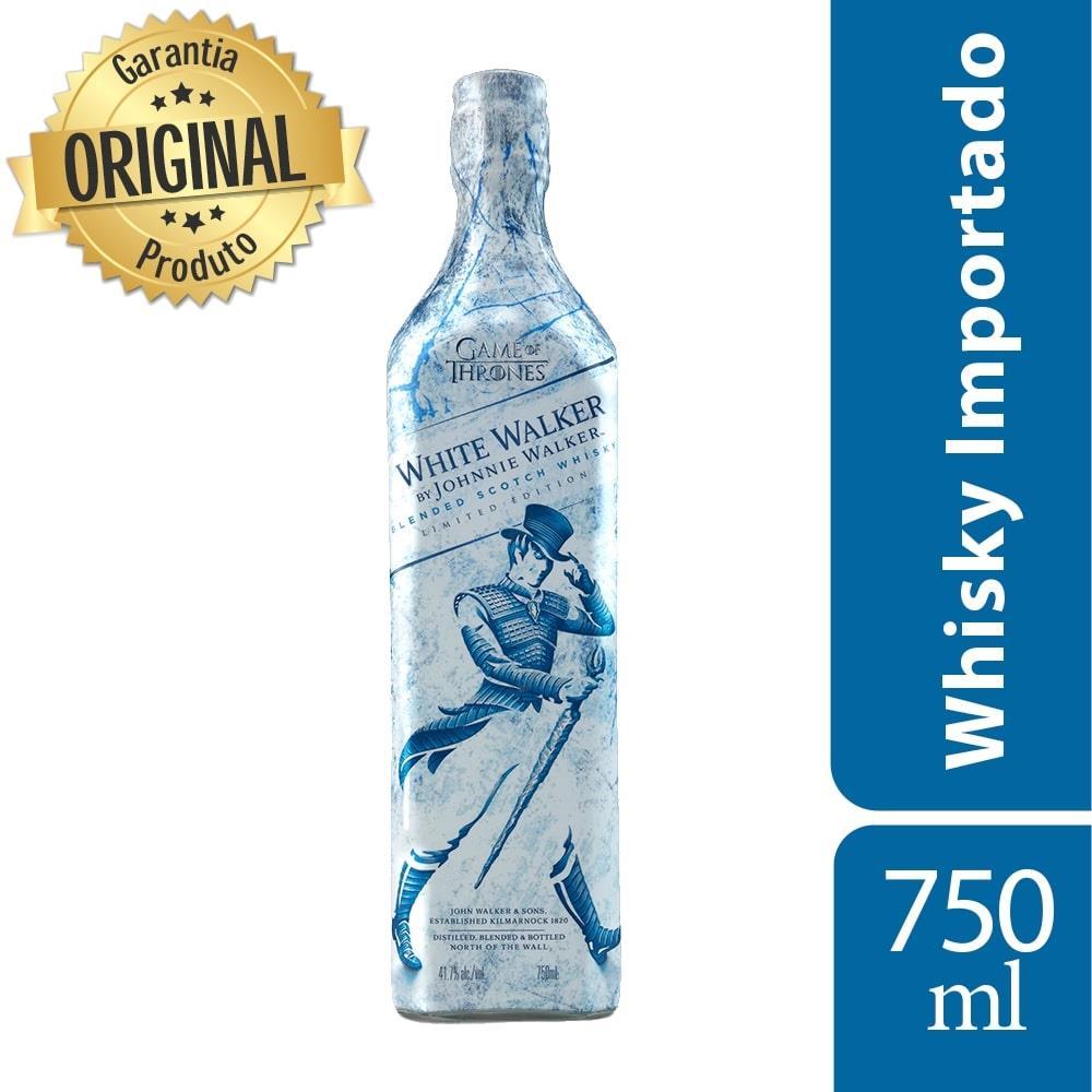 Whisky Escocês White Walker Edição Limitada 750ml - Johnnie Walker