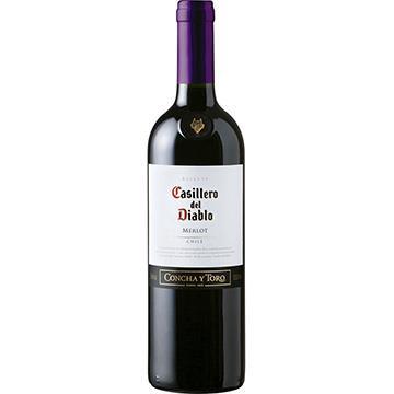 Vinho Chileno Tinto Casillero Del Diablo Merlot Garrafa 750ml - Concha Y Toro