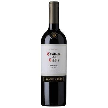 Vinho Chileno Casillero Del Diablo Malbec Tinto Garrafa 750ml - Concha Y Toro