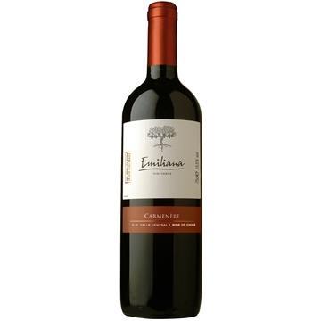 Vinho Chileno Carmenere Tinto Garrafa 750ml - Emiliana