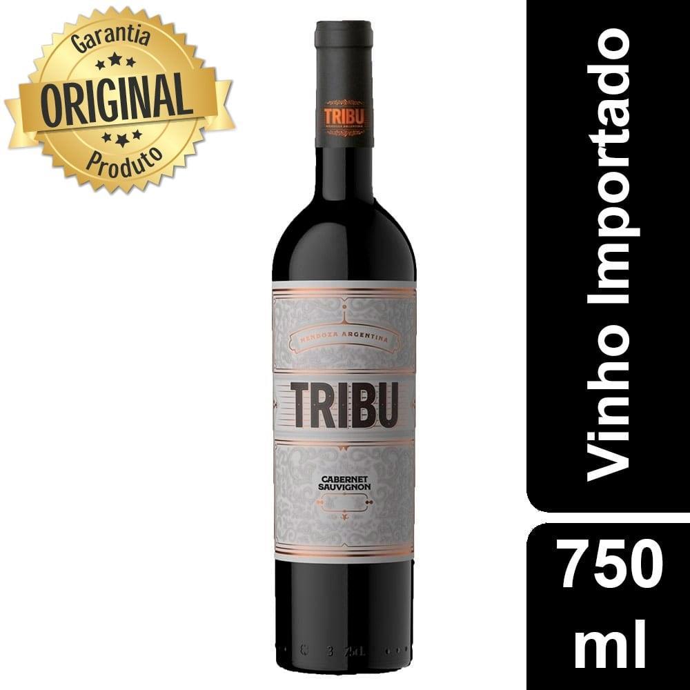 Vinho Argentino Seco Trivento Tribu Cabernet Sauvignon Garrafa 750ml - Concha Y...