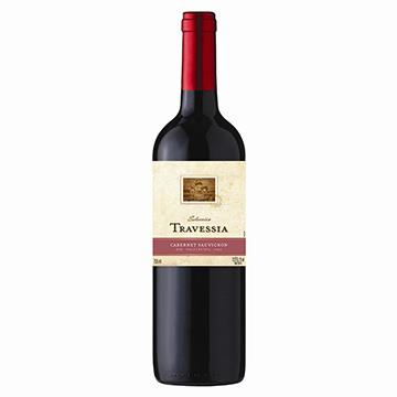 Vinho Chileno Tinto Cabernet Sauvignon Garrafa 750ml - Travessia