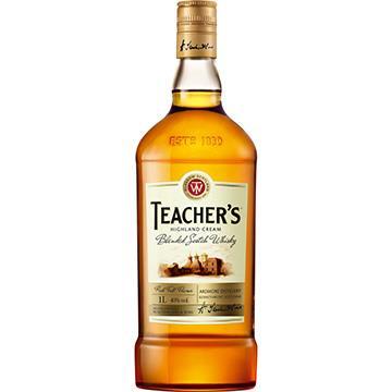 Whisky Escocês Garrafa 1 Litro - Teachers