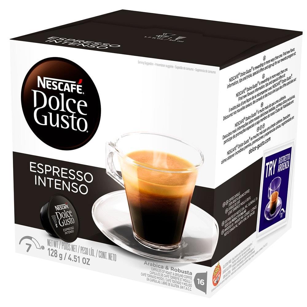 Dolce Gusto Espresso Intenso com 16 Cápsulas - Nescafé