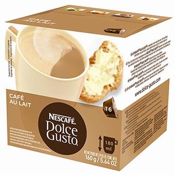 Dolce Gusto Café Au Lait 160g c/ 16 Cápsulas - Nescafé