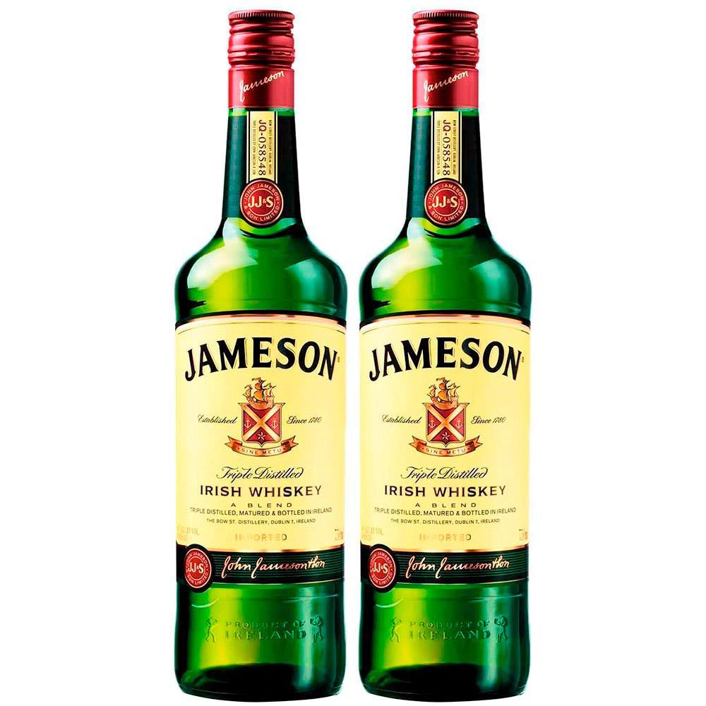 Kit 2 Whisky Importado Irlandes Jameson 750ML