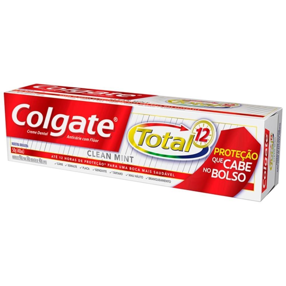 Creme Dental Colgate Total Clean Mint 50g