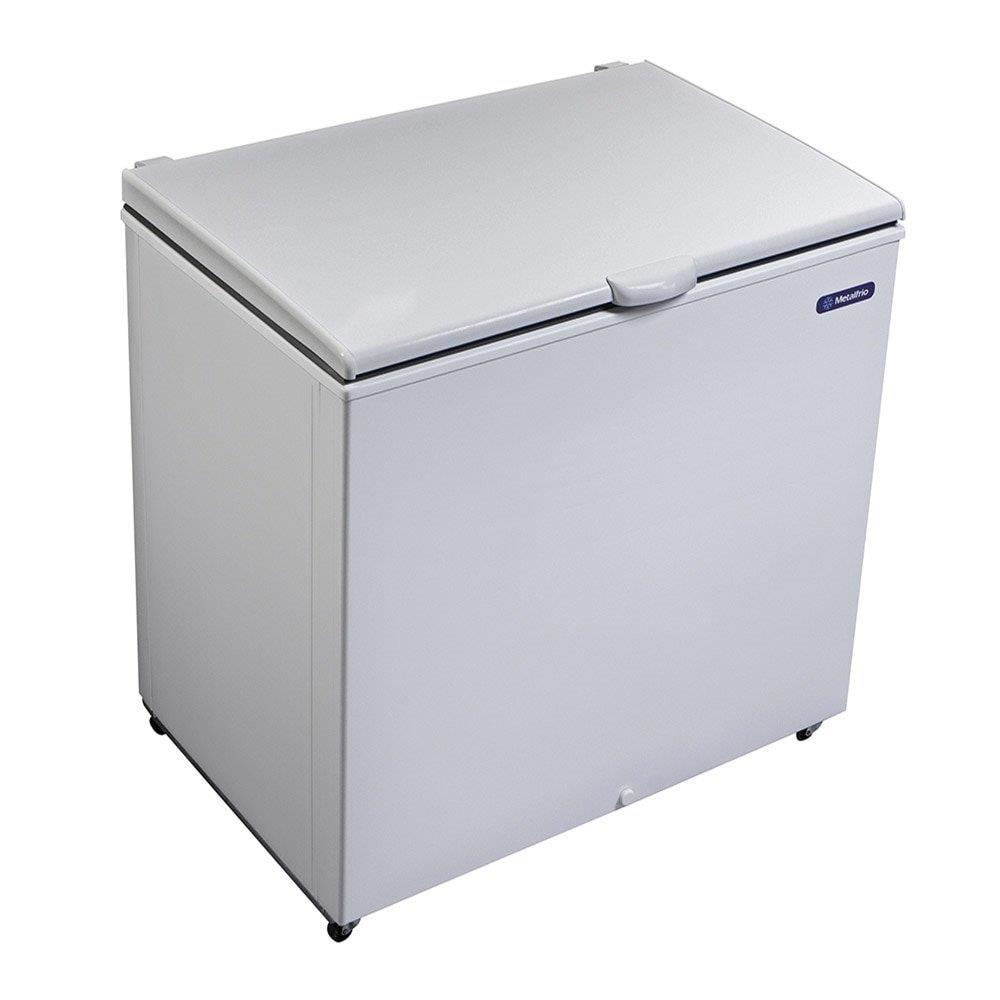 Freezer e Refrigerador Horizontal (Dupla Ação) 1 Tampa 293 Litros DA302 -...