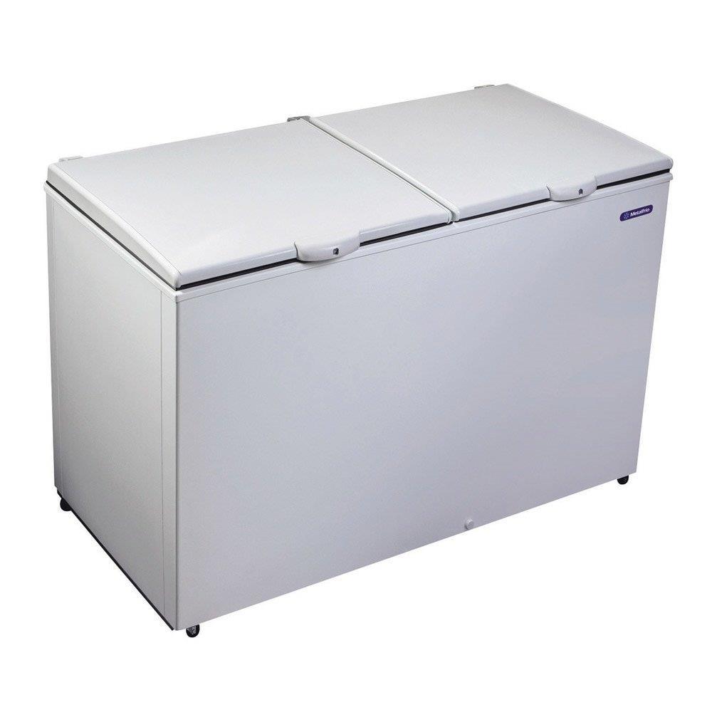 Freezer e Refrigerador Horizontal (Dupla Ação) 2 Tampas 419 Litros DA420 -...