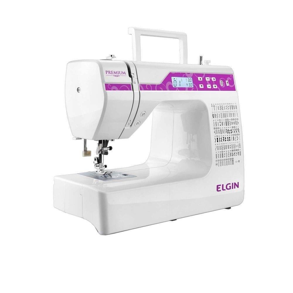 Máquina de Costura Portátil JX10000 Premium Bivolt - Elgin