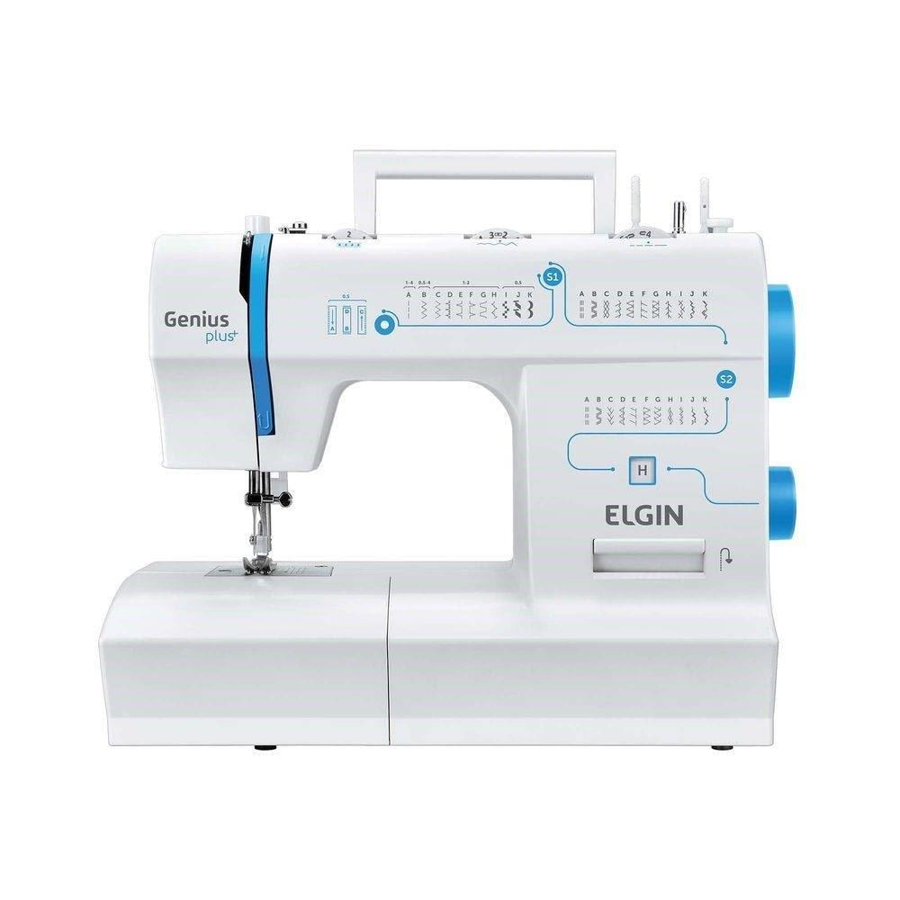 Máquina de Costura Portátil JX4035 Genius - Elgin