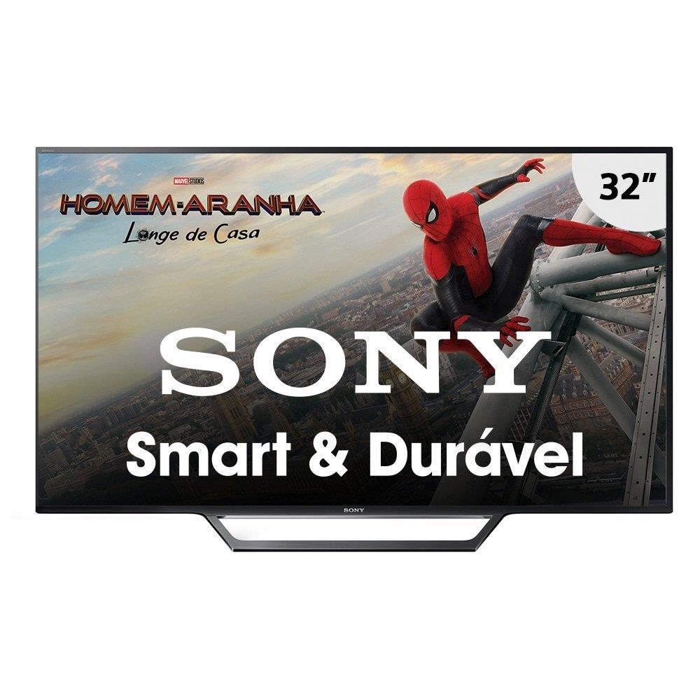 "Smart TV LED 32"" Sony KDL-32W655D HD com Wi-Fi, 2 USB, 2 HDMI, Motionflow 240 e..."