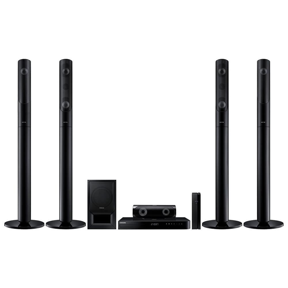 Home Theater Samsung HT-J5550WK/ZD Blu-ray 3D, Caixas Traseiras Wireless,...