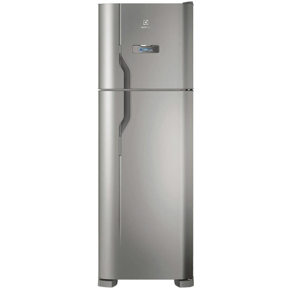 Geladeira/Refrigerador Electrolux Frost Free 2 Portas DFX41 371 Litros Inox