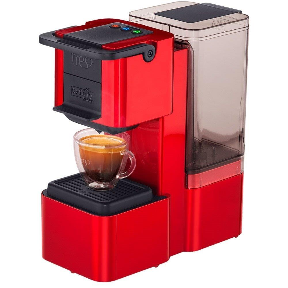 Cafeteira Expresso Tres POP Plus Vermelho