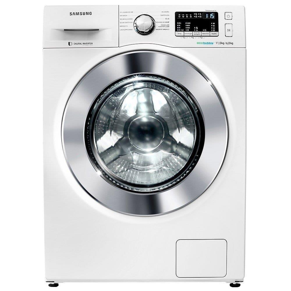 Lava e Seca Samsung 11Kg WD4000 WD11M44530W Ecobubble Branca