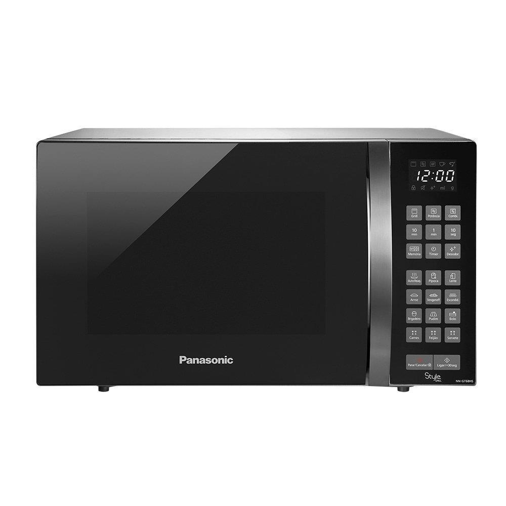 Micro-ondas Grill Panasonic NN-GT68HSRUN 20 Litros Branco