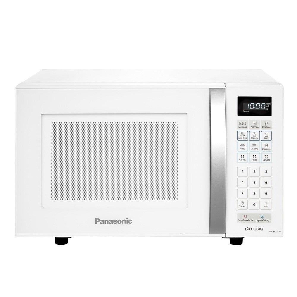 Micro-ondas Panasonic NN-ST25JWRUN 21 Litros Branco
