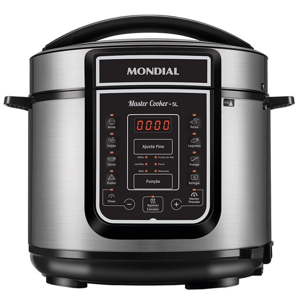 Panela Elétrica de Pressão Mondial Digital Master Cooker 5 Litros