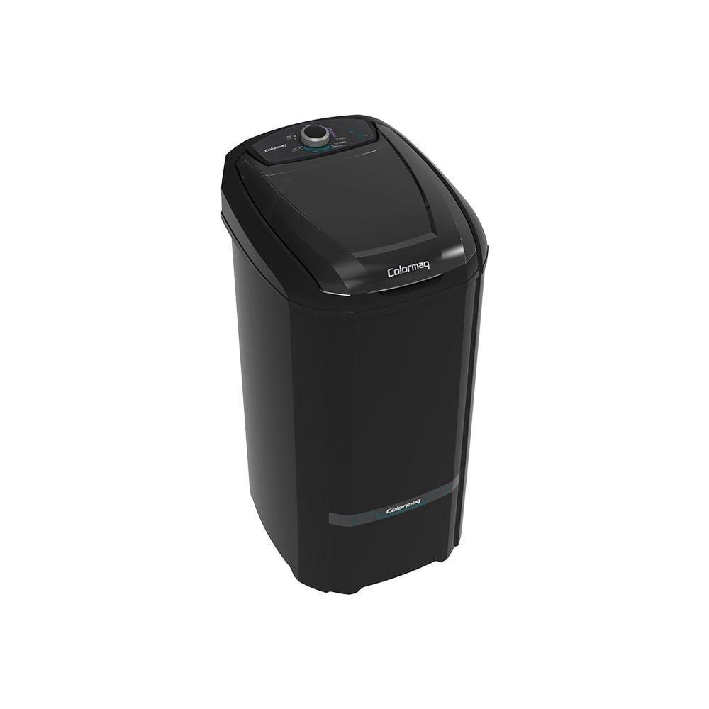 Tanquinho / Lavadora de Roupas Semi-automática Colormaq 10Kg LCS Preta 110V
