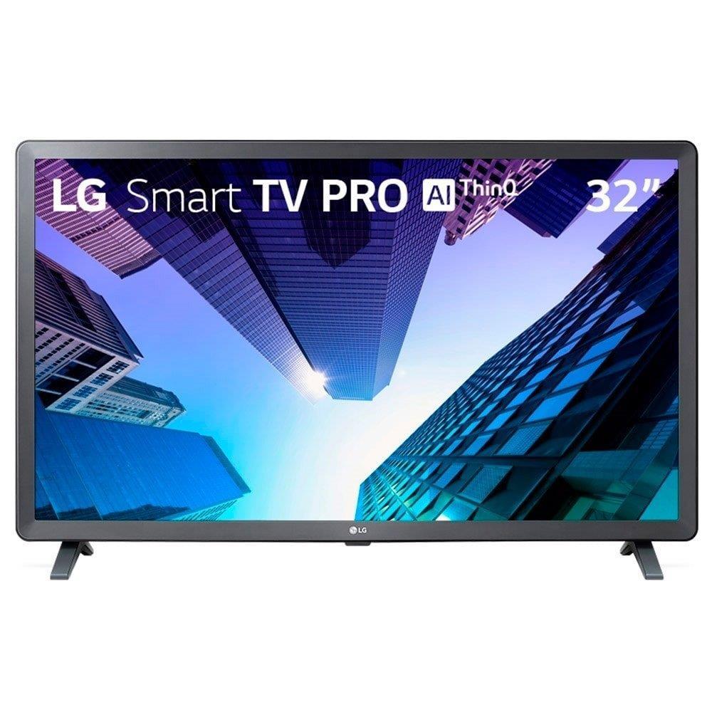 "Smart TV 32"" LED LG 32LM625BPSB HD com Wi-Fi, 2 USB, 3 HDMI e 60Hz"