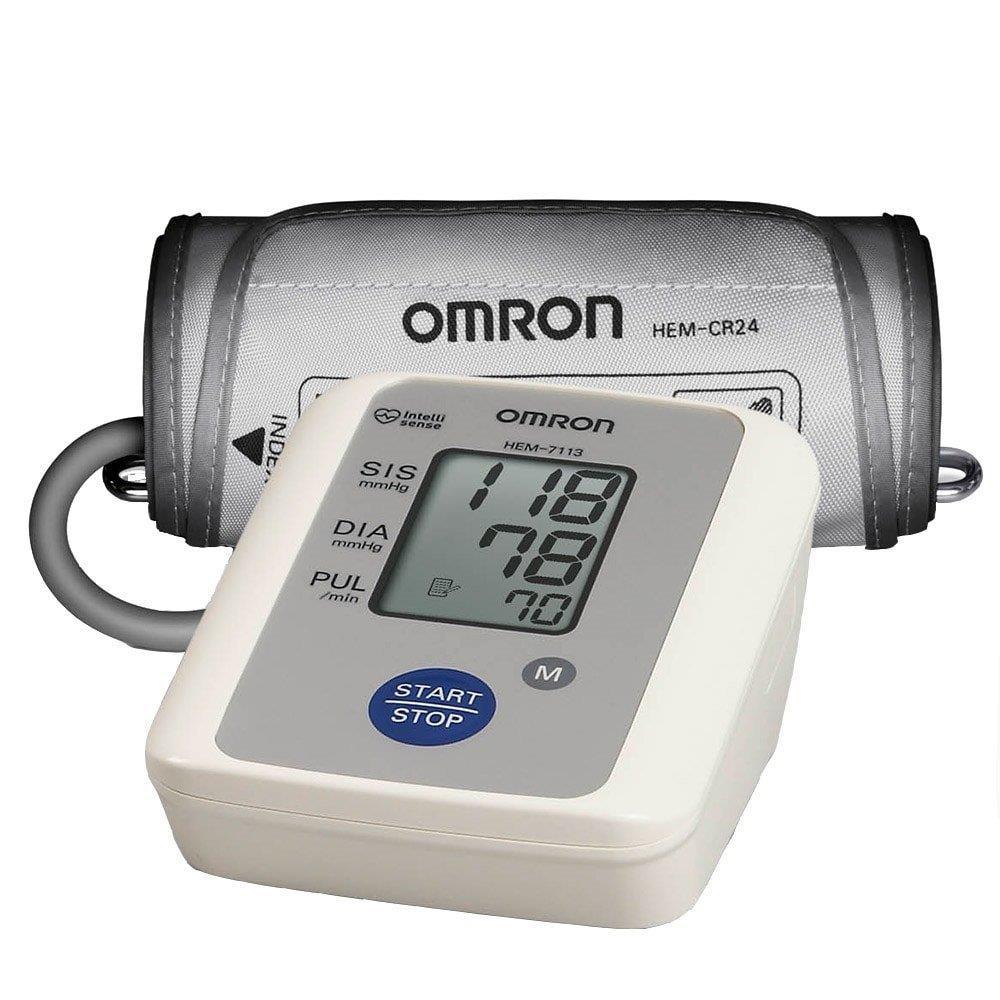 Monitor de Pressão Arterial Omron HEM-7113 Automático para Braço