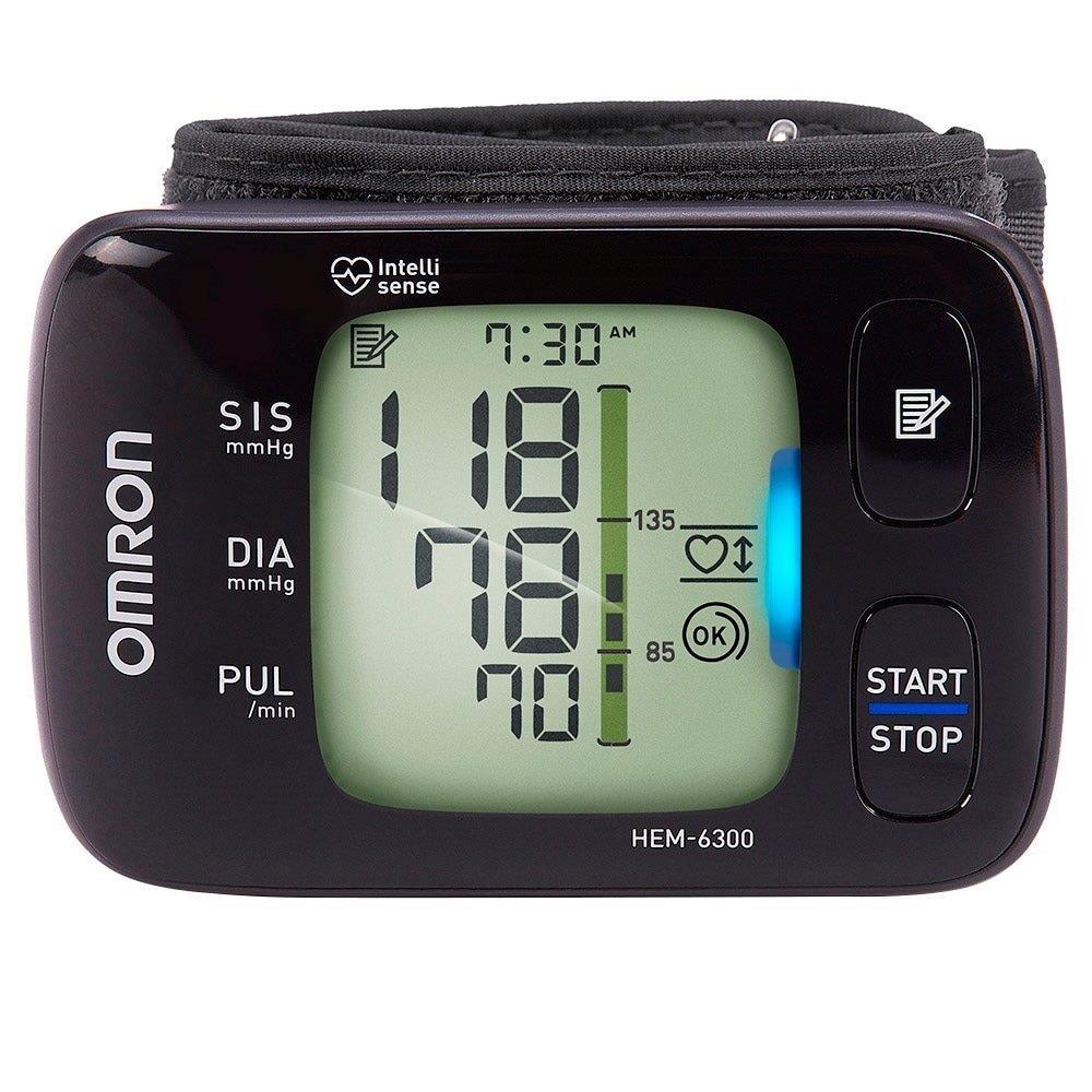 Monitor de Pressão Arterial Omrom HEM-6300 Digital de Pulso