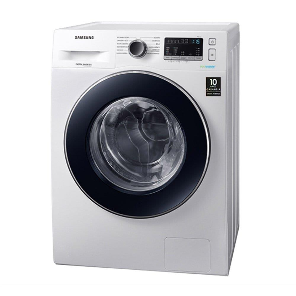 Lava e Seca Samsung 11Kg WD4000 WD11M4453JW com Ecobubble  Branca