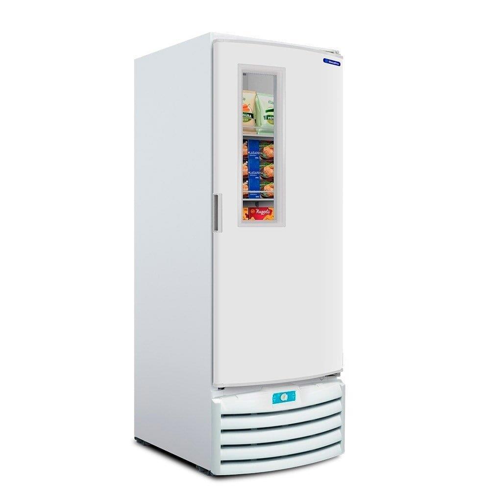 Freezer Vertical Metalfrio VF55 Dupla Ação Branco