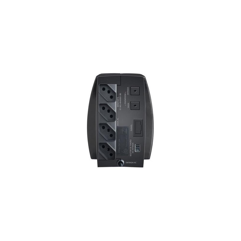 Foto 2 - Estabilizador EXXA Power T 300VA com Entrada e Saída 115V, 4 Tomadas - Enermax
