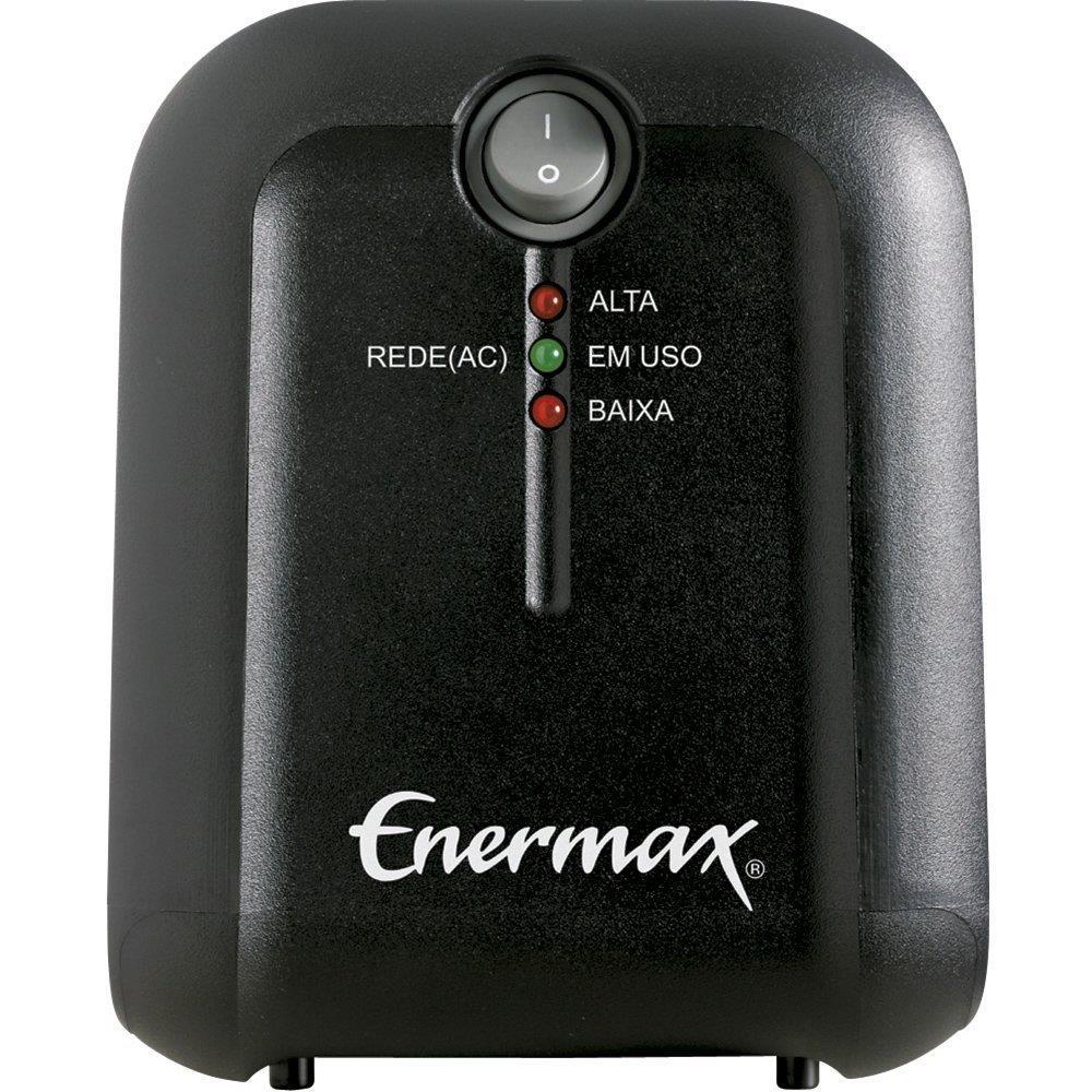 Estabilizador EXS II Power T 1000VA com Entrada Bivolt e Saída 115V, 4 Tomadas...