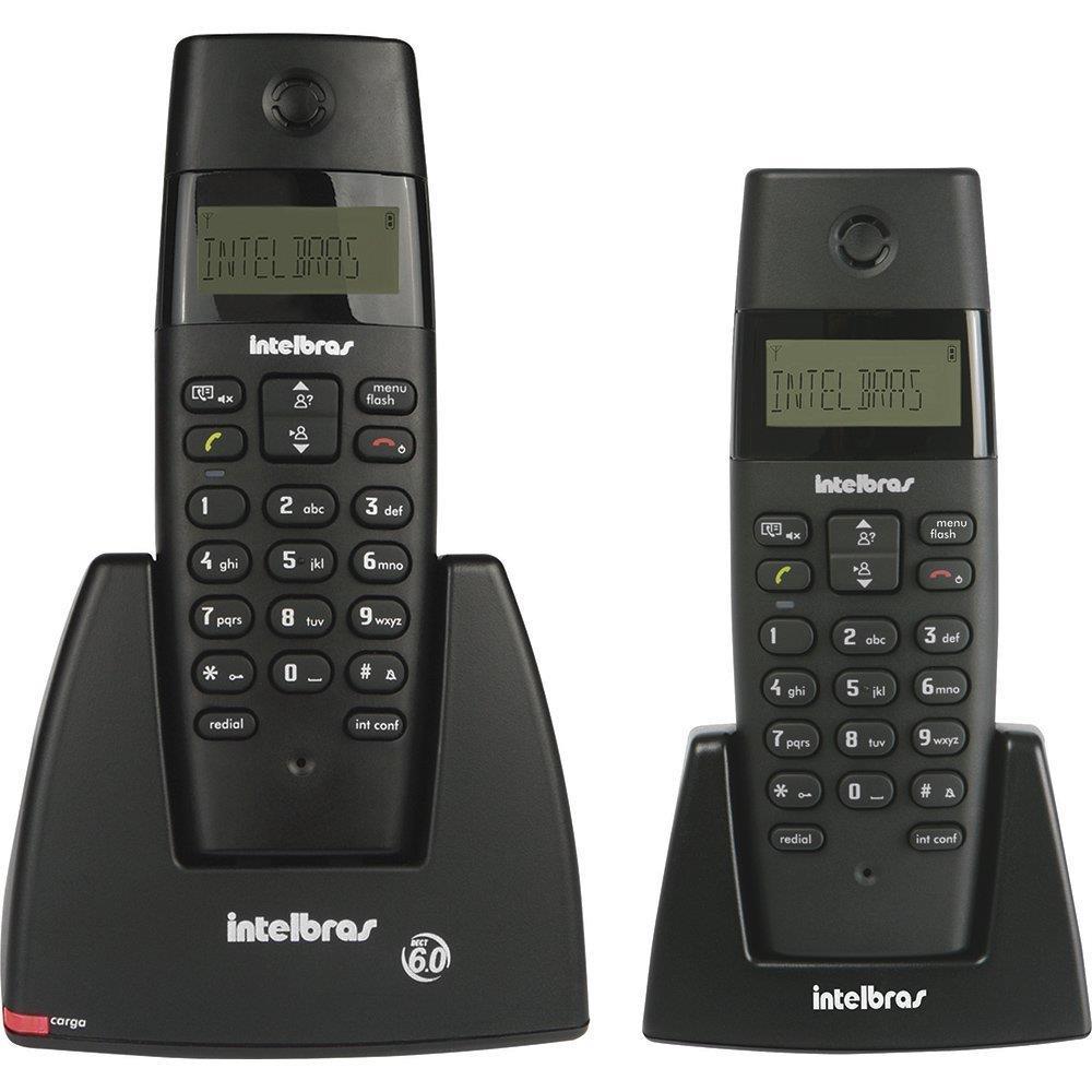 Telefone sem Fio TS40C + Ramal Adicional com Identificador de Chamadas -...