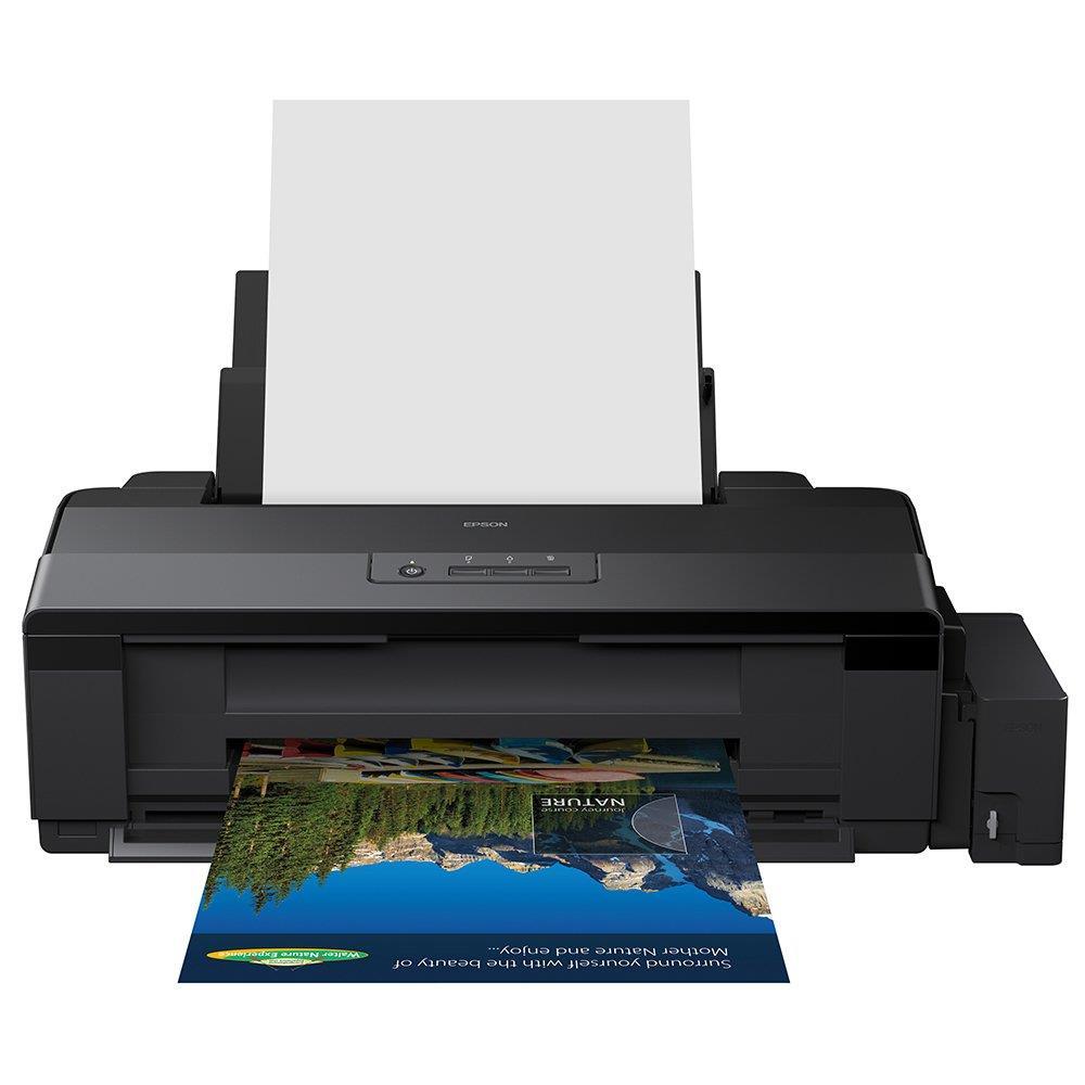 Impressora Epson A3 L1800 Tanque de Tinta Colorida, Fotográfica, 110V