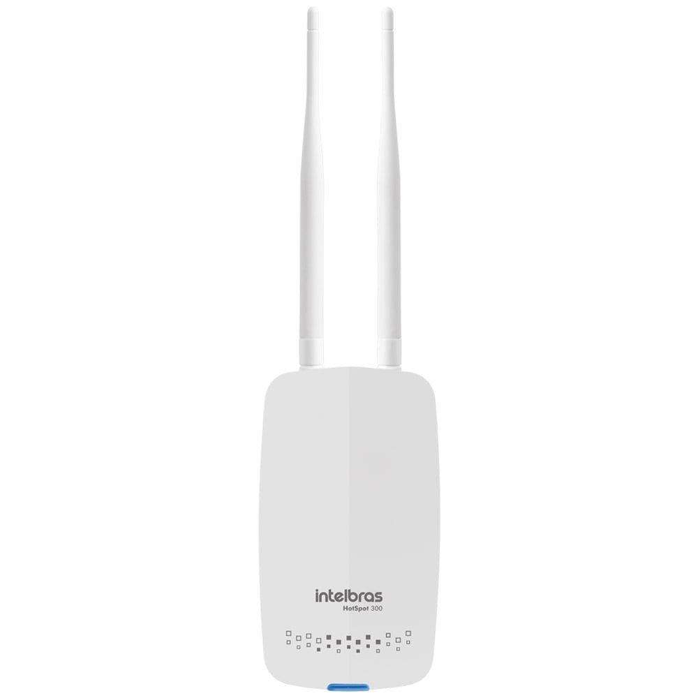 Foto 1 - Roteador Wireless HotSpot 300 Corporativo 300MBPS 2 Redes WiFi Branco - Intelbras