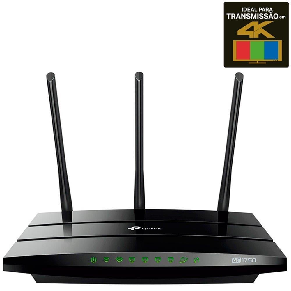 Roteador Wireless Archer C7 AC1750 1.75Gbps, 6 Antenas - TP-Link