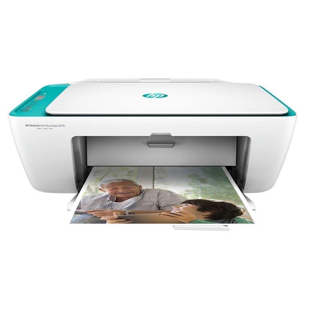 Multifuncional HP Deskjet Ink Advantage 2676 All in One Wi-Fi, USB, Bivolt
