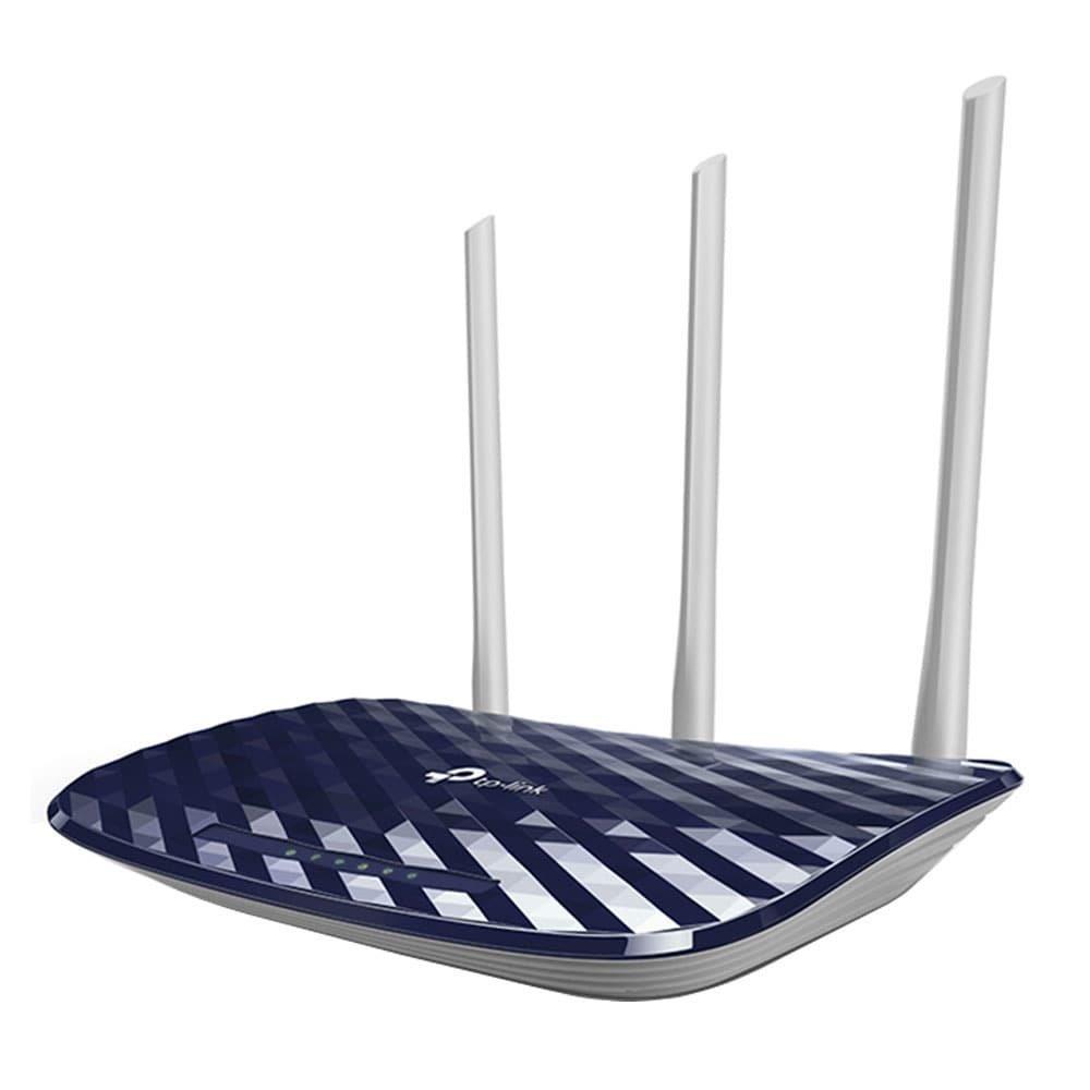 Foto 2 - Roteador Wireless TP-Link Archer C20 V4 AC750 733Mbps, 3 Antenas