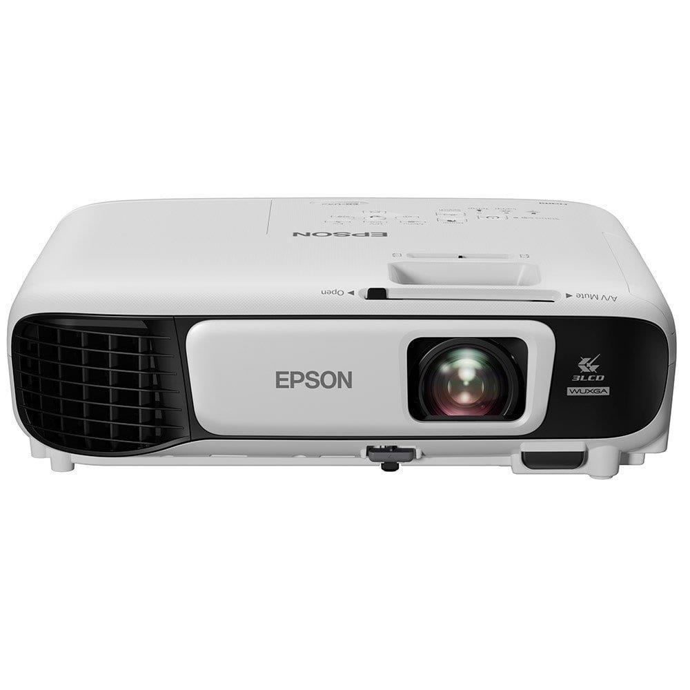 Projetor Epson U42+ 3LCD Powerlite Full HD WUXGA 2 HDMI 3600 Lumens Bivolt