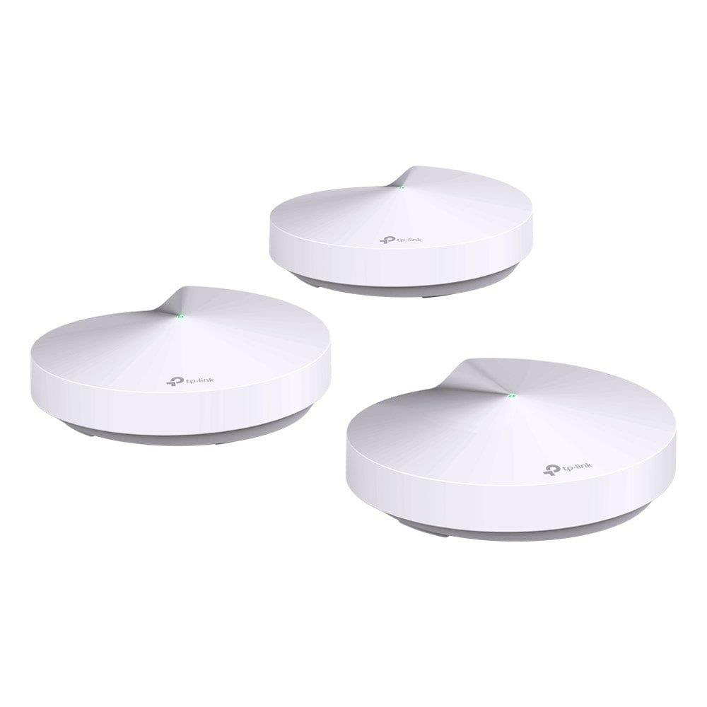 Roteador + Repetidor Tp-Link AC1300 Deco M5 Branco, 400 Mbp, 4 Antena Interna,...