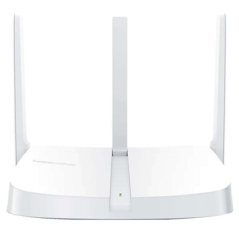 Roteador Wireless MW305R V2 300Mbps, 4 Portas, 3 Antenas 5dBi - Mercusys