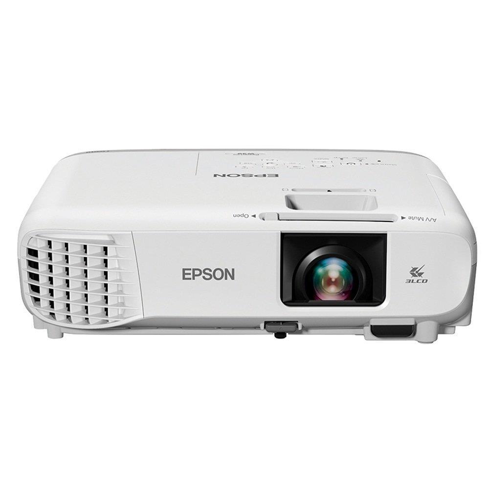 Projetor Epson W39 3LCD Powerlite WXGA 2 HDMI 3500 Lumens Bivolt