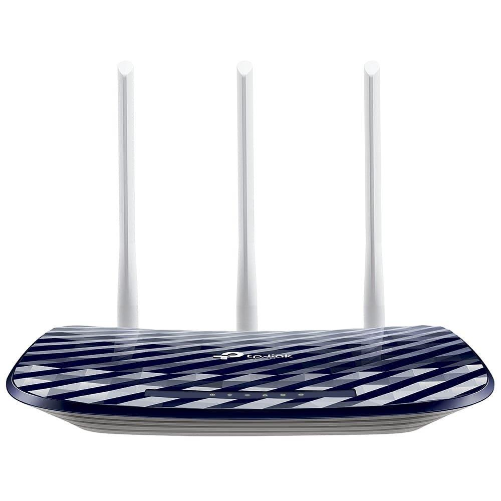 Roteador Wireless Tp-Link Archer C20W AC750, Dual Band,733Mbps, 4 portas, 3...