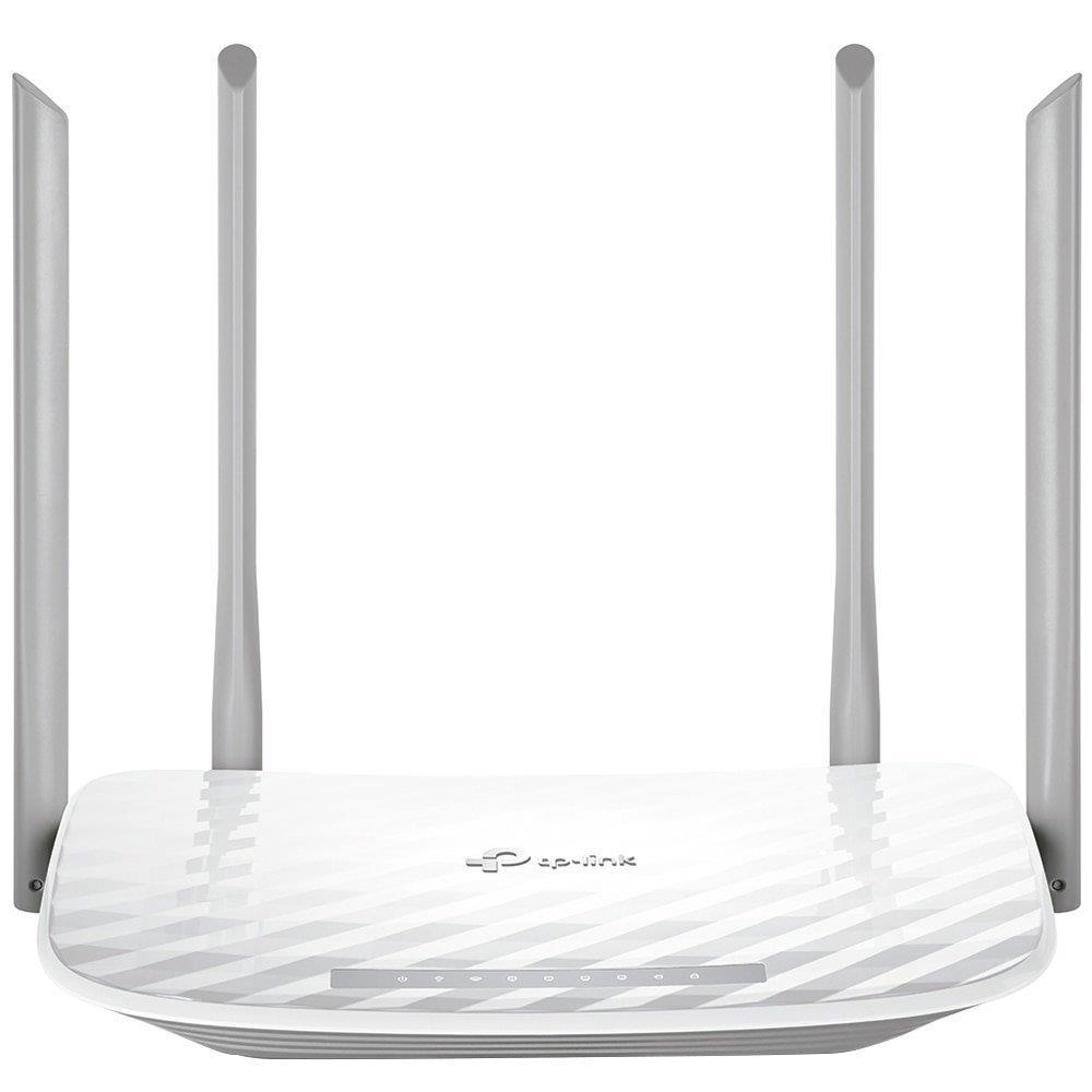 Foto 1 - Roteador Wireless Tp-Link Archer C5W Ac1200 1200Mbps, Dual Band, 4 Portas, 4 Antenas
