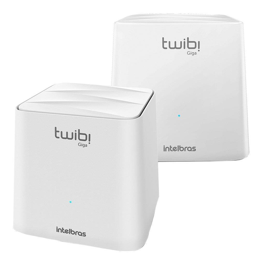 Roteador Wireless Mesh Twibi Giga Intelbras 2 Antenas Internas Dual Band 2...