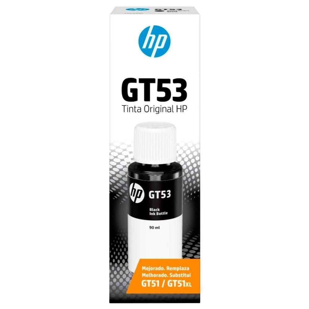 Refil de Tinta Original HP GT53 Preto 1VV22AL