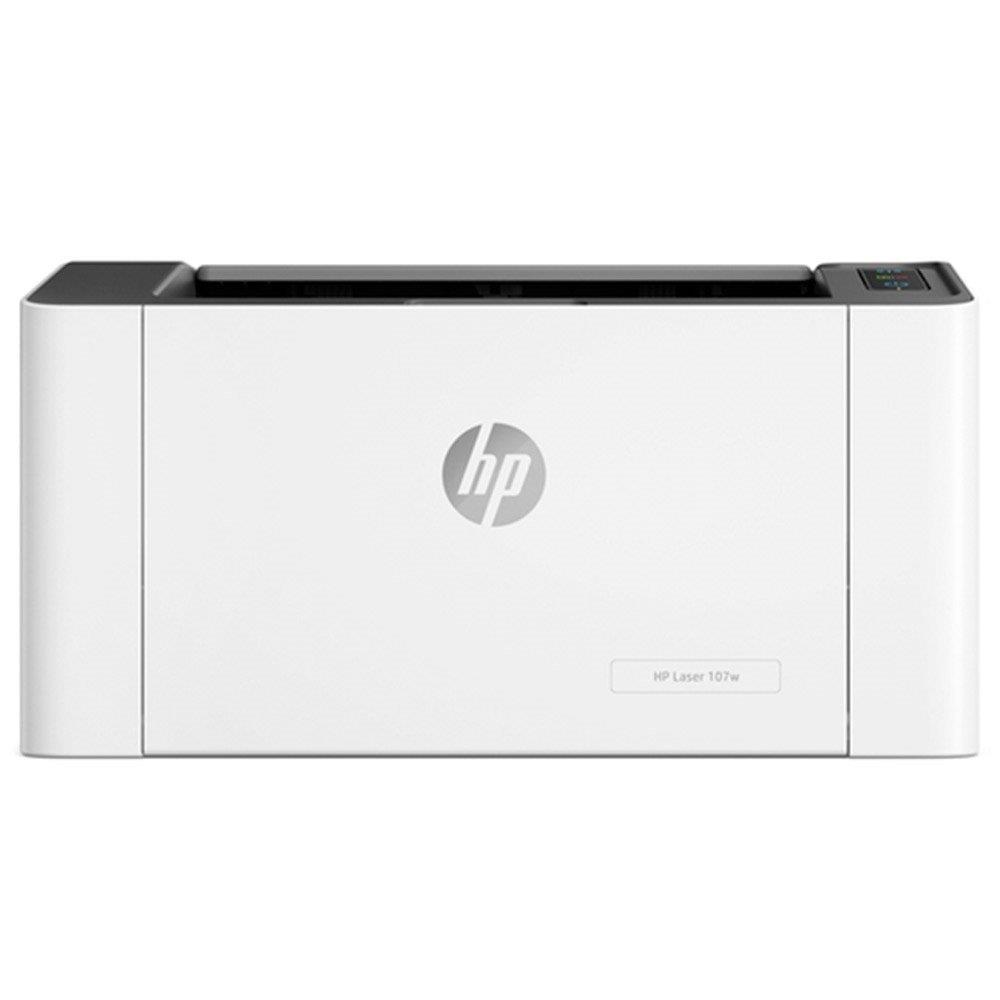 Impressora HP Laser 107w Monocromática, Wi-Fi, USB e 110V