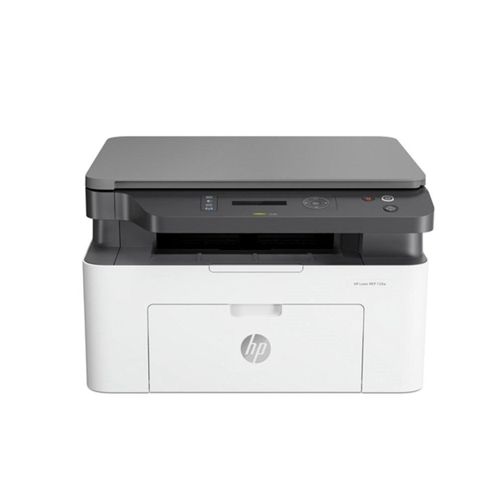 Impressora HP Laser 135w Monocromática, Wi-Fi, USB