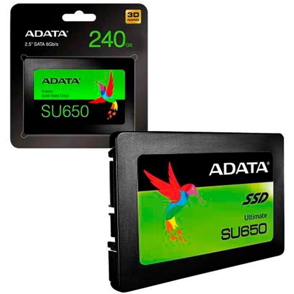 Memória SSD Adata 240GB ASU630SS-240GQ-R SATA 2.5