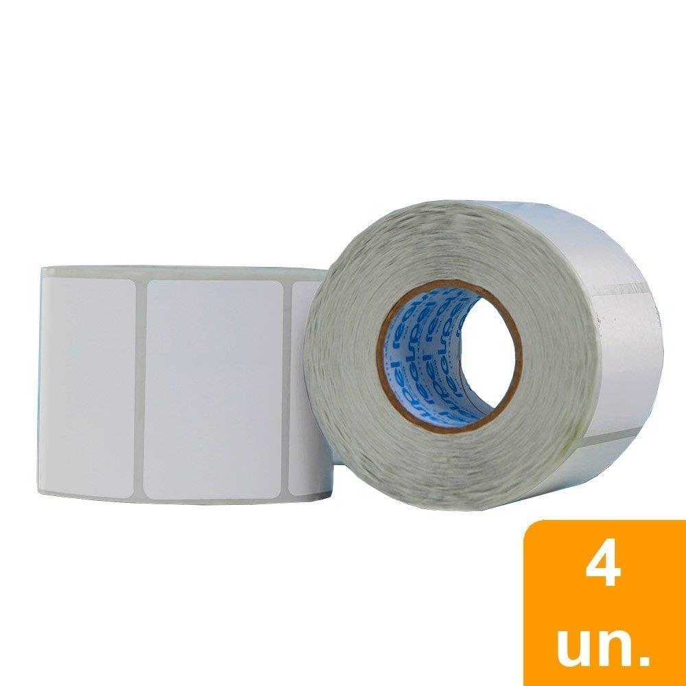 Etiqueta para Balança Térmica Filizola 60x30mm Embalagem com 4 Unidades - Smart