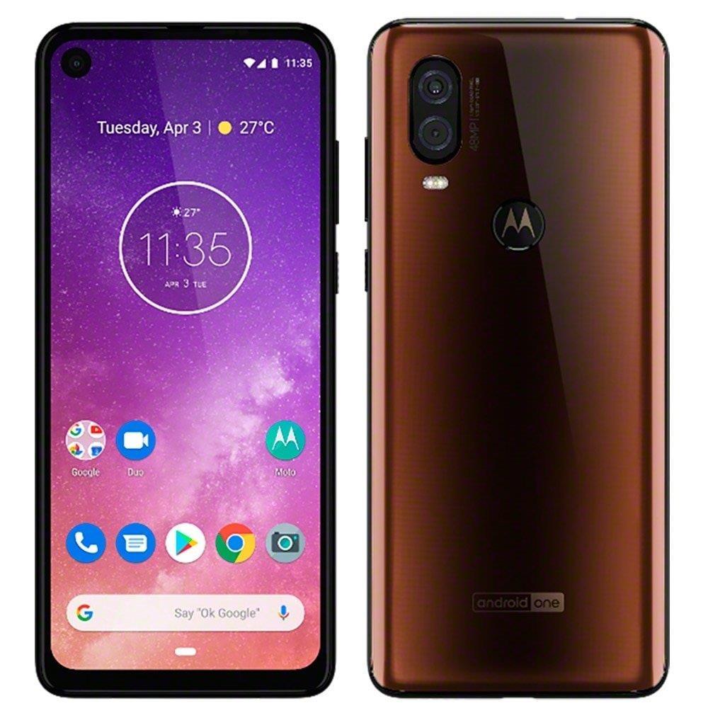 "Smartphone Motorola One Vision, Bronze, Dual Chip, Tela 6,34"", 4G+Wi-Fi+NFC,..."
